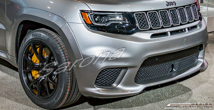 Custom Jeep Grand Cherokee  SUV/SAV/Crossover Front Bumper (2014 - 2019) - $980.00 (Part #JP-015-FB)